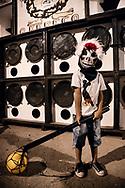 Bate-Bola kid in the street carnival of Marechal Hermes district - Praça Acapu 2017