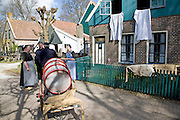 Urk village, Zuiderzee museum, Enkhuizen, Netherlands