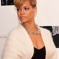 LONDON, ENGLAND - DECEMBER 09:  Singer Rihanna arrives for a Q&A at The Meat & Wine Co. Westfield on December 9, 2009 in London, England. Rihanna announced the dates of her May 2010 UK Tour.  (Photo by Marco Secchi/Getty Images)