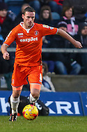 Andy Drury of Luton Town during the Sky Bet League 2 match at Adams Park, High Wycombe<br /> Picture by David Horn/Focus Images Ltd +44 7545 970036<br /> 26/12/2014