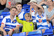 Reading fans during the Sky Bet Championship match between Birmingham City and Reading at St Andrews, Birmingham, England on 8 August 2015. Photo by Alan Franklin.