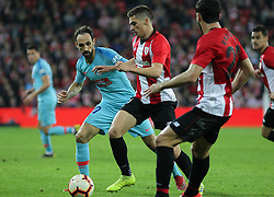 March 16, 2019 - Bilbao, Vizcaya, Spain - Juanfran of Atletico de Madrid in action during La Liga Spanish championship, , football match between Athletic de Bilbao and Atletico de Madrid, March 16th, in Nuevo San Mames Stadium in Bilbao, Spain. (Credit Image: © AFP7 via ZUMA Wire)