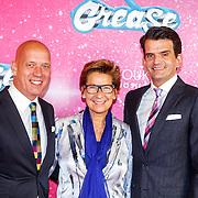 NLD/Tilburg/20150913 - Premiere musical Grease, Maurice Wijnen en partner Ronald den Ouden en Janine van der Ende - Klijburg