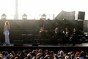7de editie van openluchtconcert &quot;Holland Casino Concert by the Sea&quot; op de boulevard van Scheveningen voor het Kurhaus.<br /> <br /> <br /> <br /> Op de foto: Natasha Marsh