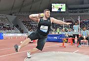 Joe Kovacs (USA) places sixth in the shot put at 68-4¼ (20.83m) during the IAAF Doha Diamond League 2019 at Khalifa International Stadium, Friday, May 3, 2019, in Doha, Qatar (Jiro Mochizuki/Image of Sport)