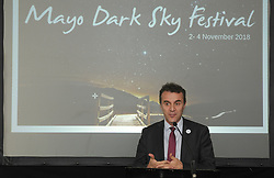 Pictured at 2018 Mayo Dark Skies festival at Ballycroy National Park Visitor Centre H.E. St&eacute;phane Crouzat, French Ambassador to Ireland.<br /> Pic Conor McKeown