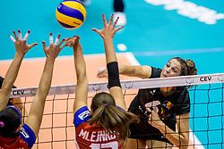 22-08-2017 NED: World Qualifications Belgium - Czech Republic, Rotterdam<br /> Charlotte Leys #6 of Belgium