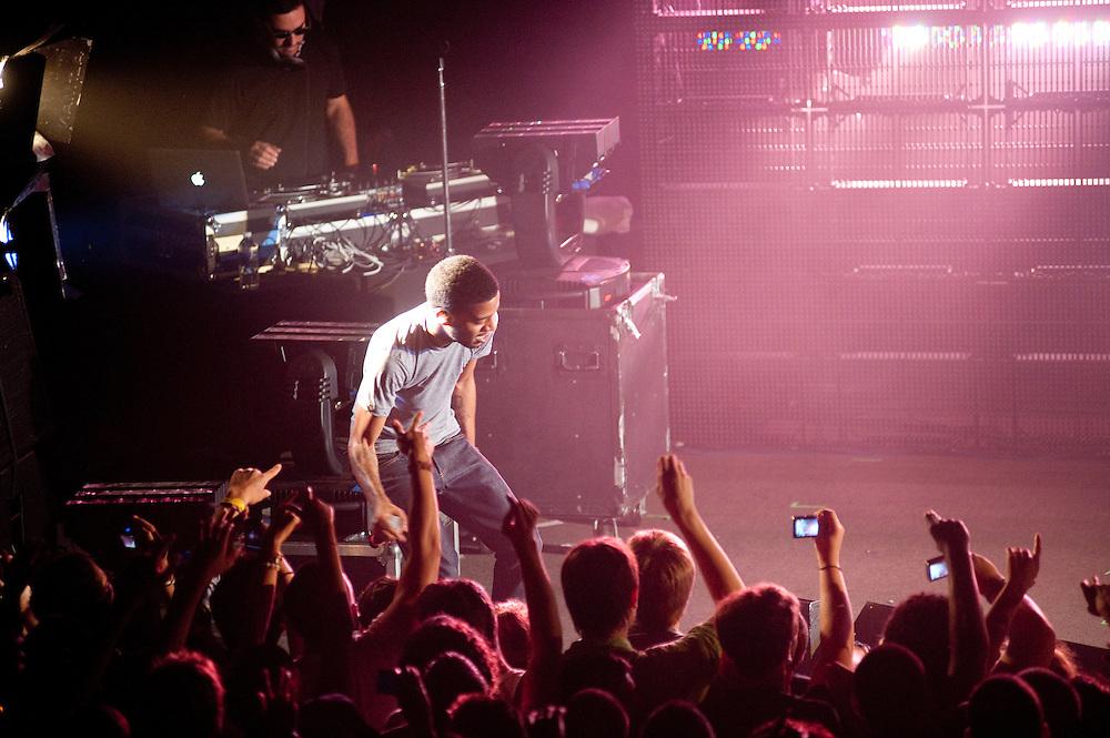 Kid Cudi, 9:30 Club, Washington, DC, 8/5/09