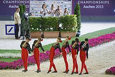 Squads Final vaulting Aachen 2015