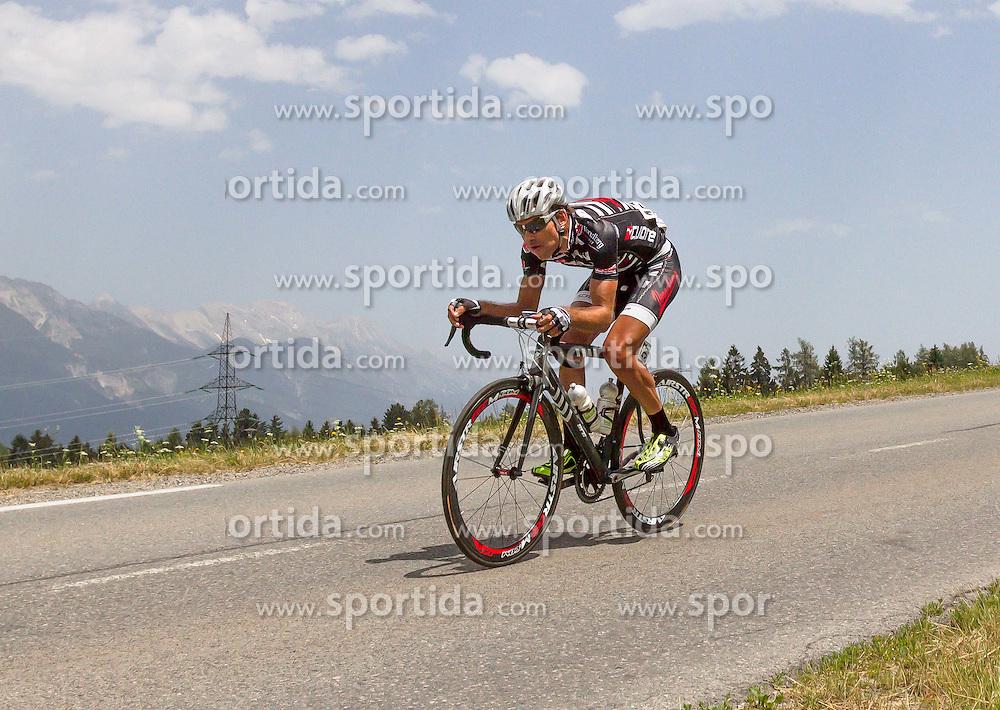 01.07.2012, Innsbruck, AUT, 64. Oesterreich Rundfahrt, 1. Etappe, EZF Innsbruck, im Bild Robert Vrecer (SOL) during the 64rd Tour of Austria, Stage 1, Individual time trial in Innsbruck, Austria on 2012/07/01