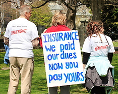 Christchurch-Red zone insurance protest