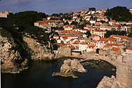 The bay at Dubrovnik Croatia