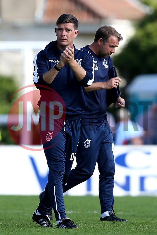 Darrell Clarke manager of Bristol Rovers - Mandatory by-line: Robbie Stephenson/JMP - 14/08/2016 - FOOTBALL - Memorial Stadium - Bristol, England - Bristol Rovers v Oxford United - Sky Bet League One