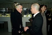 DAPHNE GUINNESS, Comme de Garcons launch of their new perfume. 8 88. Phonica Records. Poland St. London. 29 November 2007. -DO NOT ARCHIVE-© Copyright Photograph by Dafydd Jones. 248 Clapham Rd. London SW9 0PZ. Tel 0207 820 0771. www.dafjones.com.