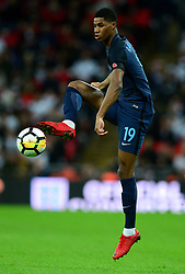 Marcus Rashford of England - Mandatory by-line: Alex James/JMP - 10/11/2017 - FOOTBALL - Wembley Stadium - London, United Kingdom - England v Germany - International Friendly