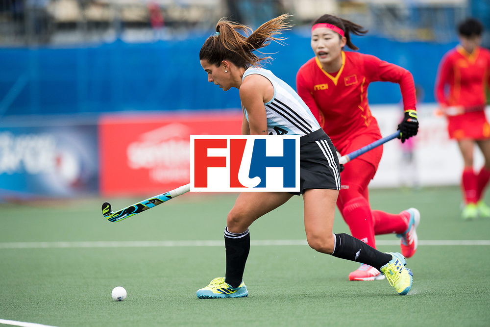 AUCKLAND - Sentinel Hockey World League final women<br /> Match id 10294<br /> 04 Argentina v China.<br /> Foto: Agostina Alonso <br /> WORLDSPORTPICS COPYRIGHT FRANK UIJLENBROEK