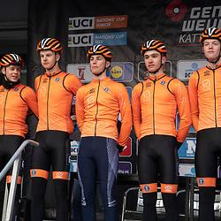 31-03-2019: Wielrennen: Kattekoers: Ieper<br /> Team Netherlands
