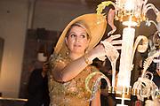 Staatsbezoek van Koning en Koningin aan de Republiek Italie - dag 4 - Milaan /// State visit of King and Queen to the Republic of Italy - Day 4 - Milan<br /> <br /> Op de foto / On the photo:  Koning Willem-Alexander en koningin Maxima bezoeken het Design Museum Triennale <br /> <br /> King Willem-Alexander and Queen Maxima visit the Design Museum Triennale