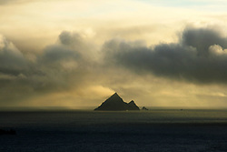 July 21, 2019 - Sunset Over One Of Blasket Islands, County Kerry, Ireland (Credit Image: © Peter Zoeller/Design Pics via ZUMA Wire)
