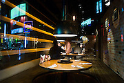 Hongdae. Fashionable restaurant.