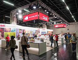 Saal photo book company stand at Photokina trade fair in Cologne, Germany , 2016