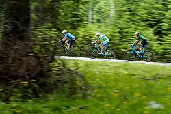 Igor Grudnik, Robert Likar and Janez Debeljak compete at Sloveian Road Cycling Championship Time Trial 2020 Gorje - Pokljuka, on June 28, 2020 in Pokljuka, Slovenia. Photo by Matic Klansek Velej / Sportida