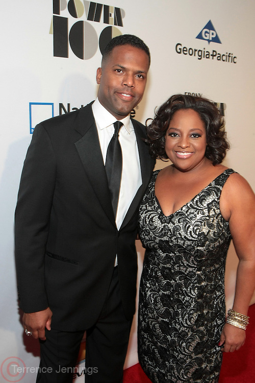 November 2, 2012- New York, NY: (L-R) On-Air Personality AJ Calloway and On-Air Personality Sherri Shepherd at the Ebony Power 100 Gala Presented by Nationwide held at Jazz at Lincoln Center on November 2, 2012 in New York City. The EBONY Power 100 Gala Presented by Nationwide salutes the country's most influential African Americans.(Terrence Jennings)