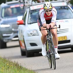 04-09-2015: Wielrennen: Ladiestour: Oosterhout OOSTERHOUT (NED) wielrennen<br />De vierde etappe was in Oosterhout een gevecht tegen het uurwerk.<br />Moniek van der Ree