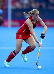 England's Jo Hunter during the Vitality Women's Hockey World Cup pool B match at The Lee Valley Hockey and Tennis Centre, London.