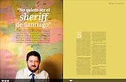 Claudio Orrego, intendente de Santiago. Revista Universitaria PUC.