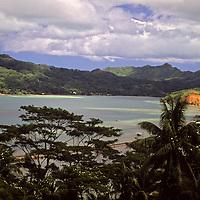 French Polynesia, Tahiti, Taha'a. Island scenery.