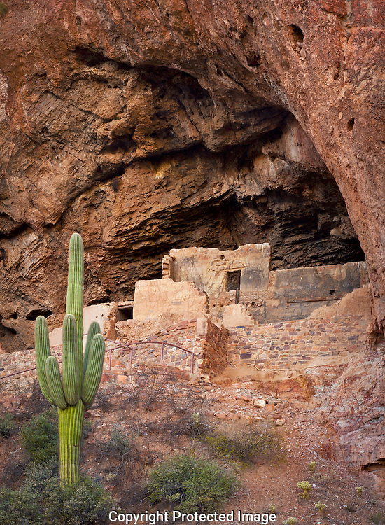 Tonto National Monument, lower ruin, AZ