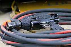 February 23, 2019 - Hampton, GA, U.S. - HAMPTON, GA - FEBRUARY 23: A Paoli air gun during the Rinnai 250 on February 23, 2019 at the Atlanta Motor Speedway in Hampton, GA.  (Photo by David J. Griffin/Icon Sportswire) (Credit Image: © David J. Griffin/Icon SMI via ZUMA Press)