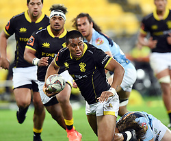 Wellington's Julian Savea against Northland in the Mitre 10 Rugby match at Westpac Stadium, Wellington, New Zealand, Thursday, October 12 2017. Credit:SNPA / Ross Setford  **NO ARCHIVING**
