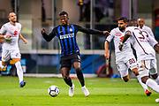 Inter Milan's Senegalese forward Keita Balde during the Italian Serie A football match Inter Milan v Torino on August 26, 2018 at the San Siro Stadium in Milan, Italy, Photo Morgese - Rossini / ProSportsImages / DPPI
