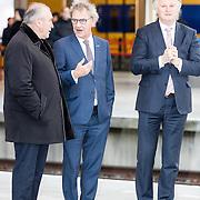 NLD/Huizen/20161130 - Staatsbezoek Belgie dag 3 - Koningin Mathilde en Koningin Maxima bezoeken Utrecht CS, Pier Eringa<br /> President-directeur ProRail, Rogier van Boxtel