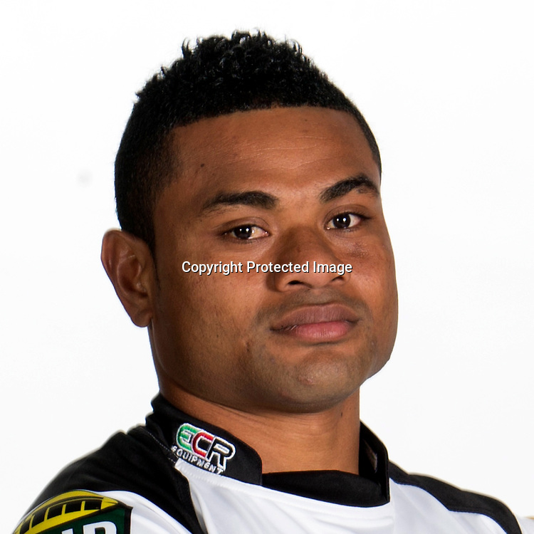 "Michael Vuicakau. Headshots of the Hawkes Bay ""Magpies"" Rugby team for the 2014 ITM Cup. 8 August 2014."