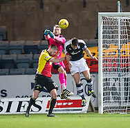 Dundee keeper Scott Bain punches clear - Dundee v Partick Thistle in the Ladbrokes Scottish Premiership at Dens Park, Dundee.Photo: David Young<br /> <br />  - &copy; David Young - www.davidyoungphoto.co.uk - email: davidyoungphoto@gmail.com