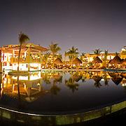 Pool at Excellence Playa Mujeres Resort at Playa Mujeres, north of Cancun, Quintana Roo, Mexico