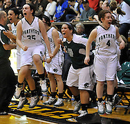 The Elyria Catholic Lady Panthers vs Gilmour Academy in an OHSAA Regional Semi Final on March 9, 2011.