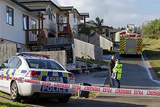 Auckland - Body found at house fire