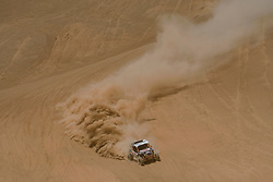 Francisco Chaleco Lopez (CHL) races during stage 05 of Rally Dakar 2019 from Monquegua, to Arequipa, Peru on January 11, 2019 // Marcelo Maragni/Red Bull Content Pool // AP-1Y3KKQ4TD1W11 // Usage for editorial use only // Please go to www.redbullcontentpool.com for further information. //