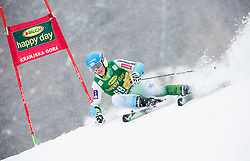 Jakob Spik (SLO) competes during 1st Run of 10th Men's Giant Slalom race of FIS Alpine Ski World Cup 55th Vitranc Cup 2016, on March 5, 2016 in Kranjska Gora, Slovenia. Photo by Vid Ponikvar / Sportida