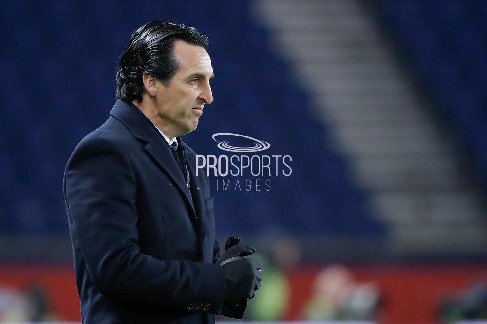 Unai Emery (PSG) during the French Championship Ligue 1 football match between Paris Saint-Germain and ESTAC Troyes on November 29, 2017 at Parc des Princes stadium in Paris, France - Photo Stephane Allaman / ProSportsImages / DPPI