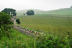 Racing through the Peak District at Aviva Women's Tour 2016 - Stage 3. A 109.6 km road race from Ashbourne to Chesterfield, UK on June 17th 2016.