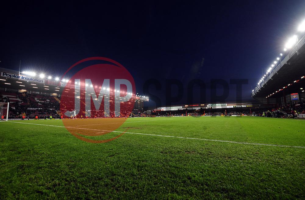Ashton Gae under the lights - Photo mandatory by-line: Joe Meredith/JMP  - Tel: Mobile:07966 386802 11/11/2012 - Bristol City v Charlton Athletic - SPORT - FOOTBALL - Championship -  Bristol  - Ashton Gate Stadium -