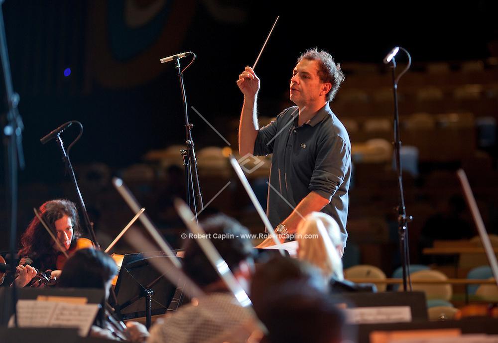 Qatar Philharmonic Orchestra United Nations in New York. . . Photo by Robert Caplin
