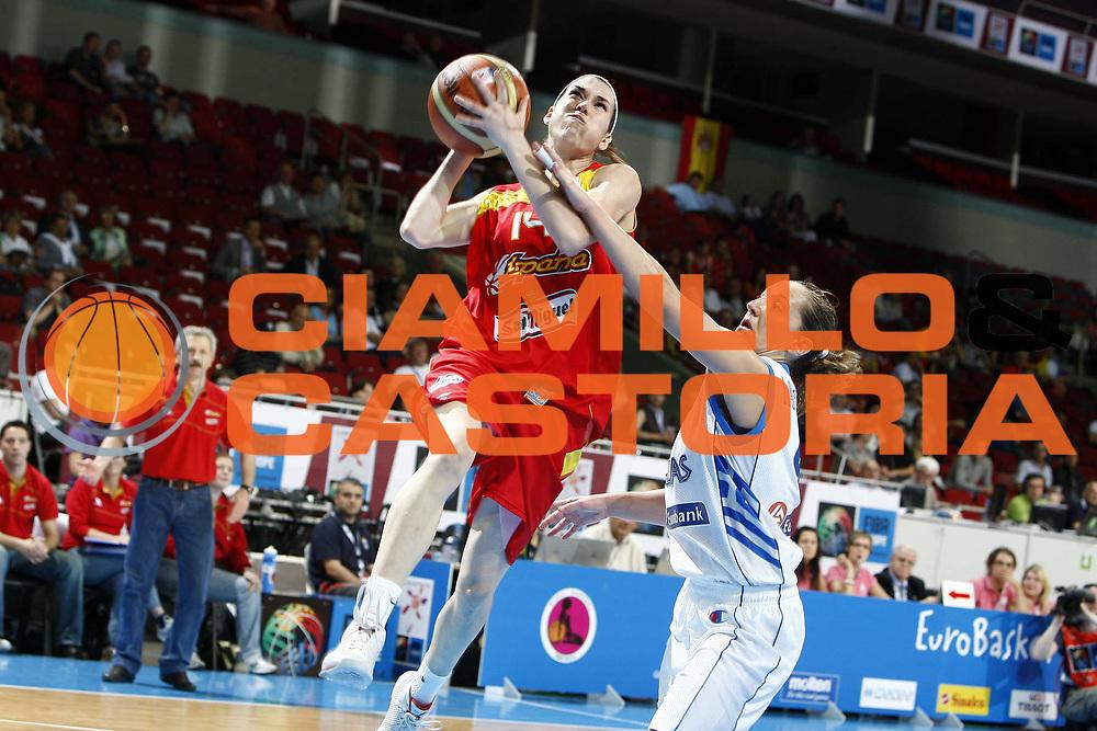 DESCRIZIONE : Riga Latvia Lettonia Eurobasket Women 2009 Qualifying Round Grecia Greece<br /> GIOCATORE : Anna Cruz<br /> SQUADRA : Spagna Spain<br /> EVENTO : Eurobasket Women 2009 Campionati Europei Donne 2009 <br /> GARA : Grecia Spagna Greece Spain<br /> DATA : 11/06/2009 <br /> CATEGORIA : tiro<br /> SPORT : Pallacanestro <br /> AUTORE : Agenzia Ciamillo-Castoria/E.Castoria<br /> Galleria : Eurobasket Women 2009 <br /> Fotonotizia : Riga Latvia Lettonia Eurobasket Women 2009 Qualifying Round Grecia Spagna Greece Spain<br /> Predefinita :