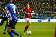 Middlesbrough midfielder Muhamed Besic (37)  during the EFL Sky Bet Championship match between Sheffield Wednesday and Middlesbrough at Hillsborough, Sheffield, England on 19 October 2018.