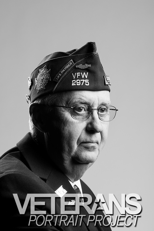 Donald A. Dahlin<br /> Army<br /> Spec. 4<br /> Infantry<br /> 1965 - 1967<br /> Vietnam<br /> <br /> Veterans Portrait Project<br /> St. Louis, MO